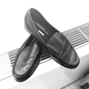 Rockport Men's black loafers